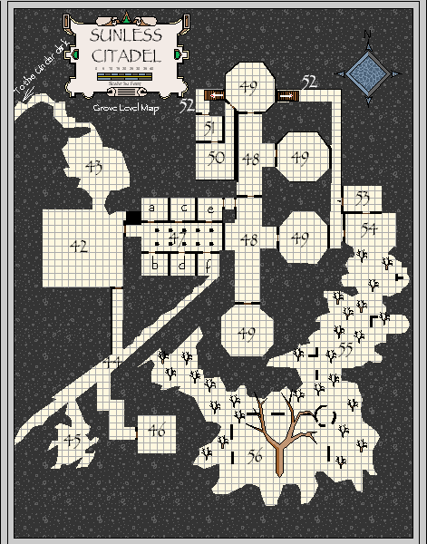 The Sunless Citadel, Grove Level